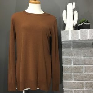 Tops - 🍂Caramel Brown Longsleeve Sweater